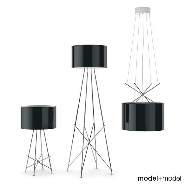 3DOcean Flos Ray lamps 309638