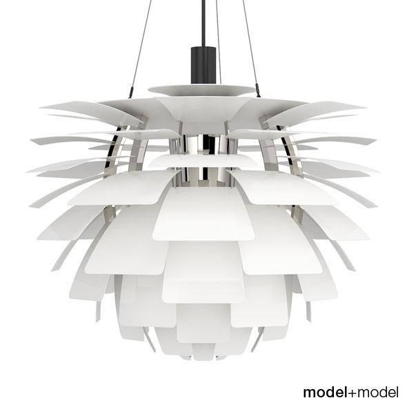 louis poulsen ph artichoke suspension lam by modelplusmodel 3docean. Black Bedroom Furniture Sets. Home Design Ideas