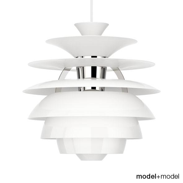 3DOcean Louis Poulsen PH Snowball suspension lamp 309648