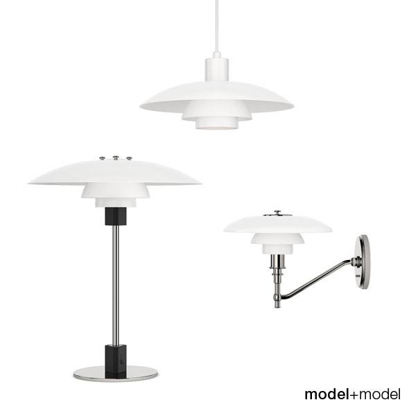 3DOcean Louis Poulsen PH 4 3 lamps 309649