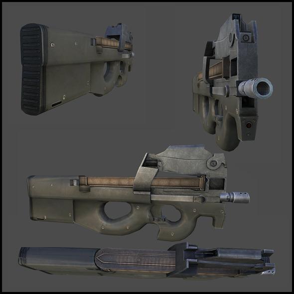 3DOcean FN P90 3018043