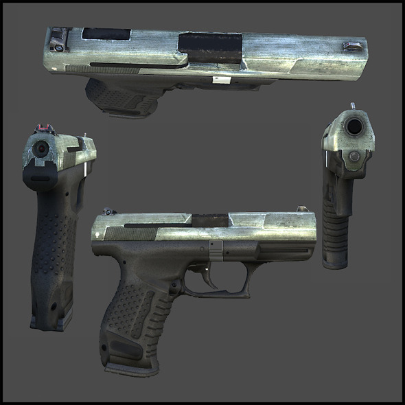 Walther P99 - 3DOcean Item for Sale
