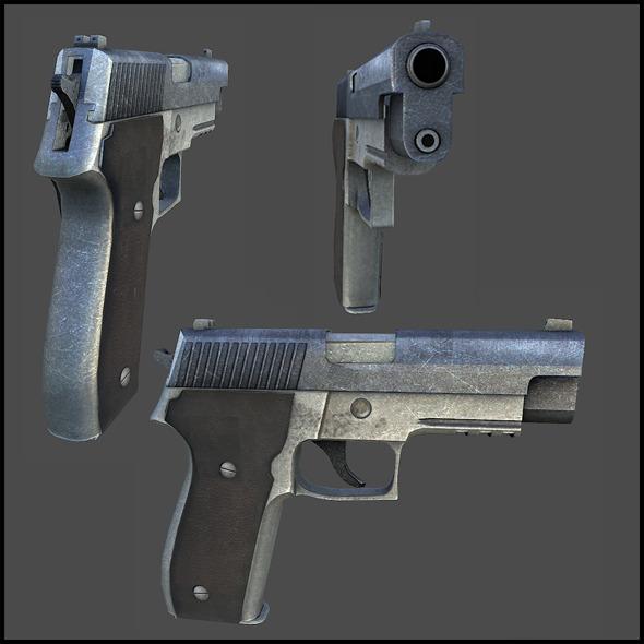 SIG 226 - 3DOcean Item for Sale
