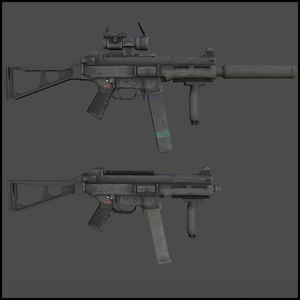 3DOcean H&K UMP 45 3018061