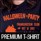Halloween Party T-Shirt Template - GraphicRiver Item for Sale
