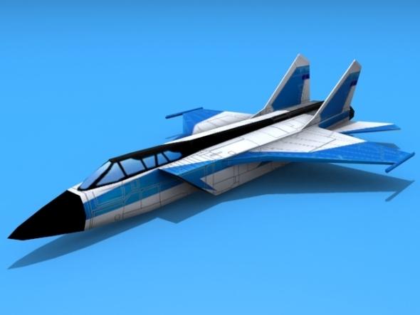 3DOcean Mig-31 Foxhound 3018101