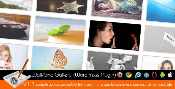 image gallery wordpress plugin 2011. Wall/Grid Gallery (WordPress Plugin) - CodeCanyon Item for Sale Screenshots