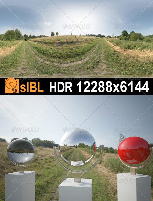 3DOcean HDR 066 Grass Field sIBL 3018935