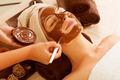 Chocolate Mask Facial Spa. Beauty Spa Salon - PhotoDune Item for Sale