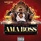 Ama Boss Hiphop Cd Cover Template - GraphicRiver Item for Sale