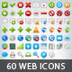 60 Web Hosting & Application Icons - GraphicRiver Item for Sale