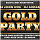 Gold Party Flyer - GraphicRiver Item for Sale