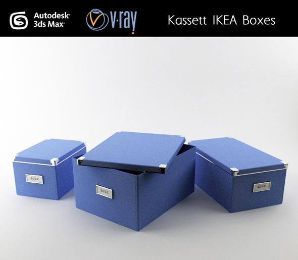 3DOcean Kassett IKEA boxes 3019995