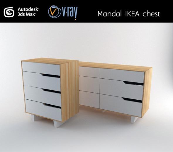 3DOcean Mandal IKEA chest 3020068