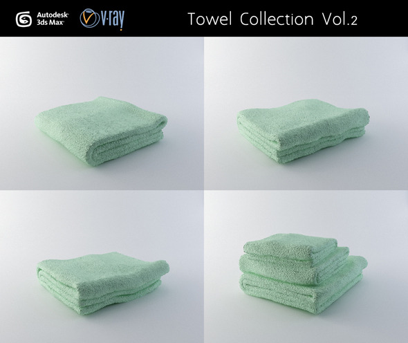3DOcean Towel Collection Vol.2 3020117