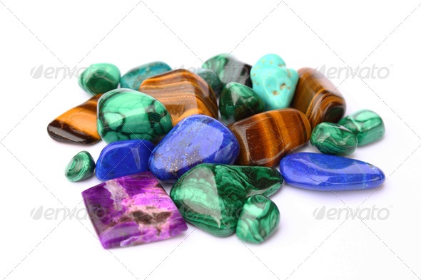 Gemstones - Stock Photo - Images