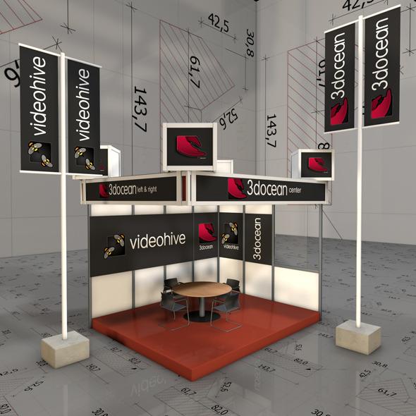 3DOcean Amaizing Xhibition Pavilion 3020511