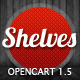 Shelves - Responsive Premium OpenCart theme - ThemeForest Item for Sale