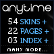 Anytime - 54 in 1, HTML Powerful Business Magazine - ThemeForest Item for Sale