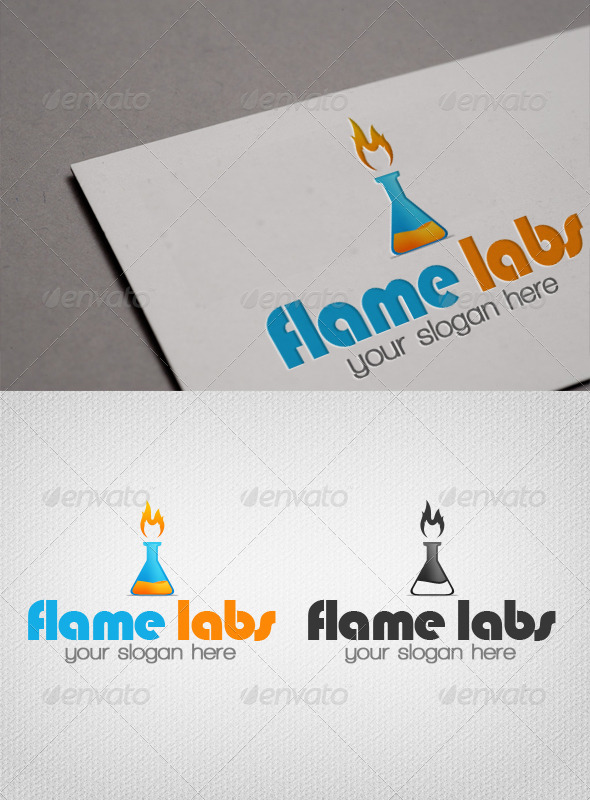 Flame Labs Logo Template - Objects Logo Templates