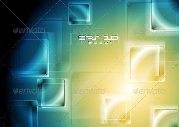 Vibrant tech design. Vector background - Backgrounds Decorative
