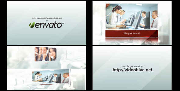 After Effects Project - VideoHive Glass Corporate Slideshow 3021713