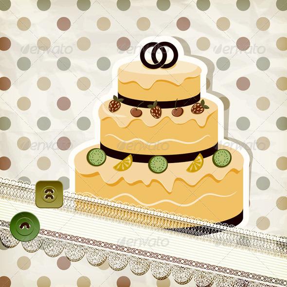 Шаблон фотошоп для торта
