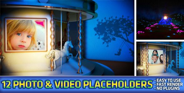 After Effects Project - VideoHive Carousel Photo & Video Album 2993494