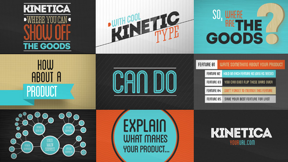 After Effects Project - VideoHive Kinetica 3022207