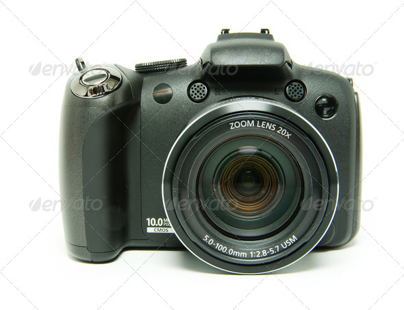 digital camera - Stock Photo - Images