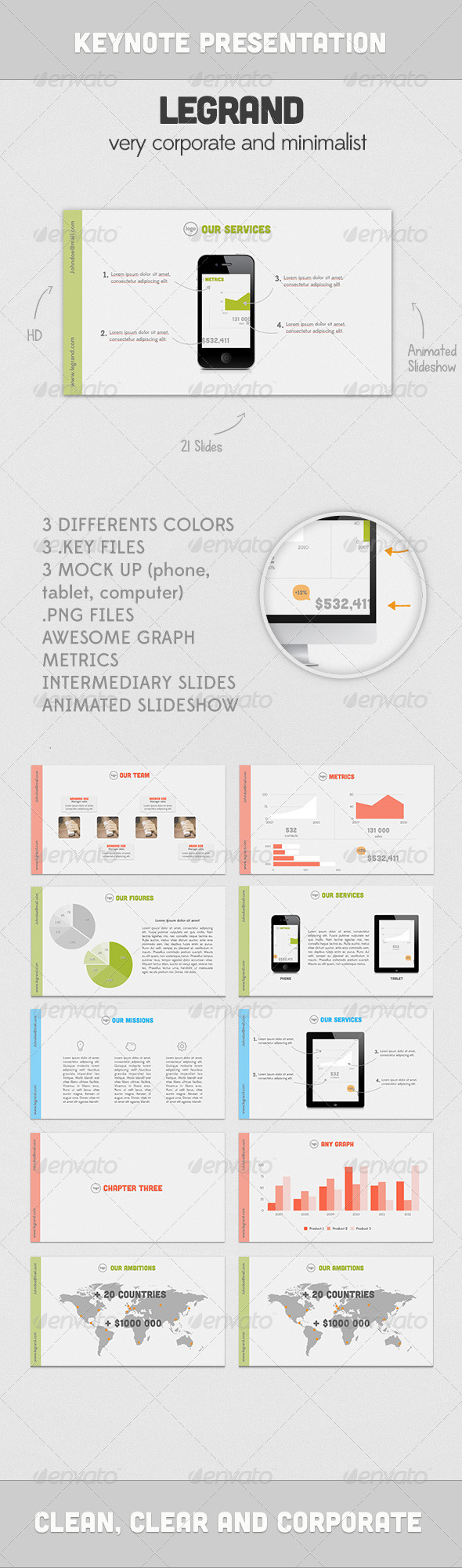 GraphicRiver Legrand Presentation 3022633