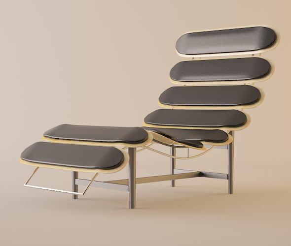 Skateboard Lounge Chair - 3DOcean Item for Sale