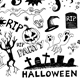 Doodles - Halloween Party - GraphicRiver Item for Sale