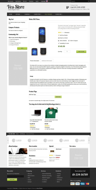 Ves Store - Responsive Magento Theme