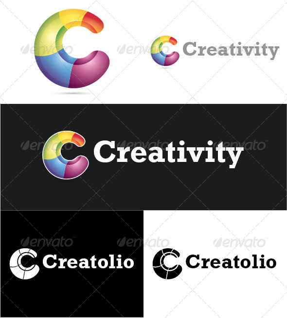 Creativity Logo - Letters Logo Templates