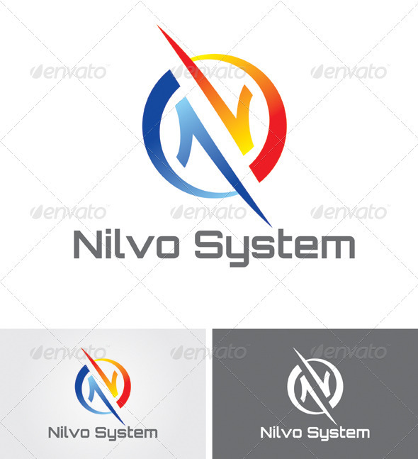 Nilvo Communications Logo - Logo Templates
