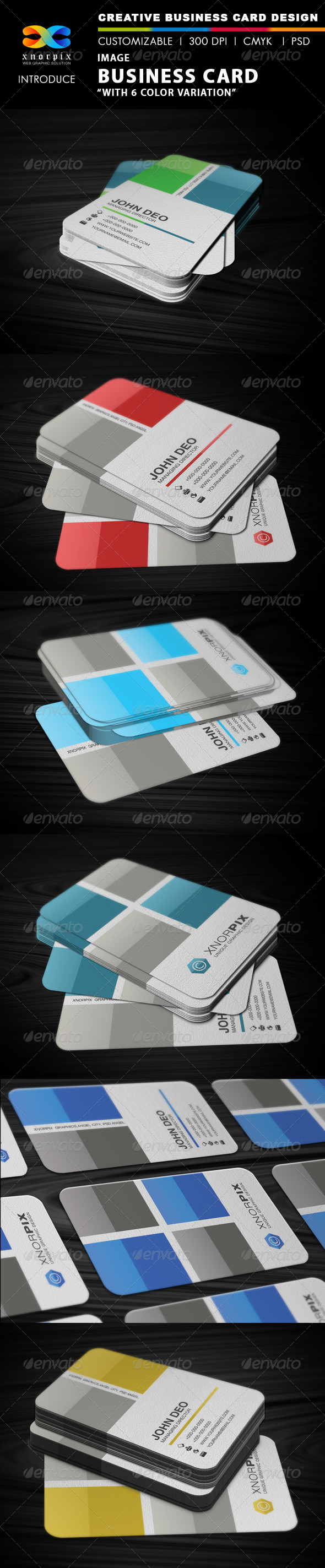 Image Business Card - Corporate Business Cards
