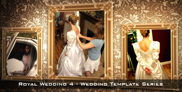 After Effects Project - VideoHive Royal Wedding 4 3023716