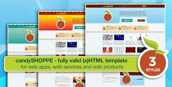 candyShoppe - web apps, products and services