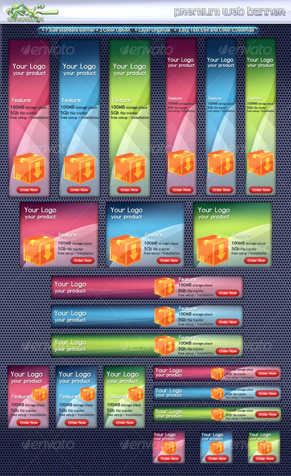 Premium Web Banner - Miscellaneous Web Elements