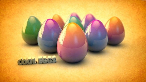 3DOcean Eastern Egg Model with Texture and HDR Sky Texture 310414