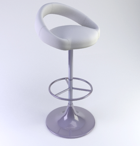 3DOcean Bar stool 3 107064