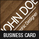 Nature Wood Business Card - GraphicRiver Item for Sale