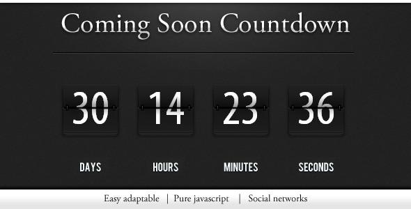 CodeCanyon - Countdown / construction page - Rip 310456 Src