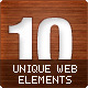 10 Unique Web Elements! - GraphicRiver Item for Sale