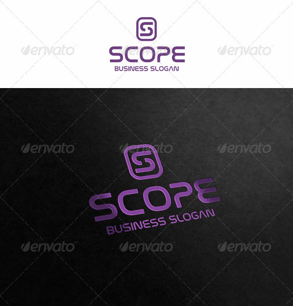 Scope - Letters Logo Templates