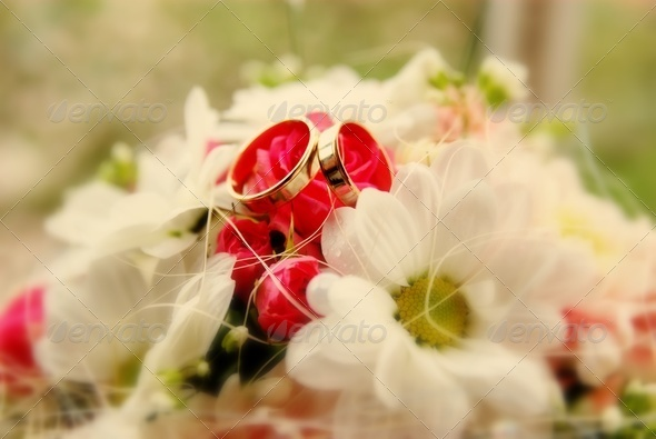 Wedding flowers - Stock Photo - Images