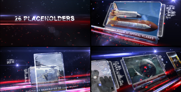 After Effects Project - VideoHive Digital Space 306542