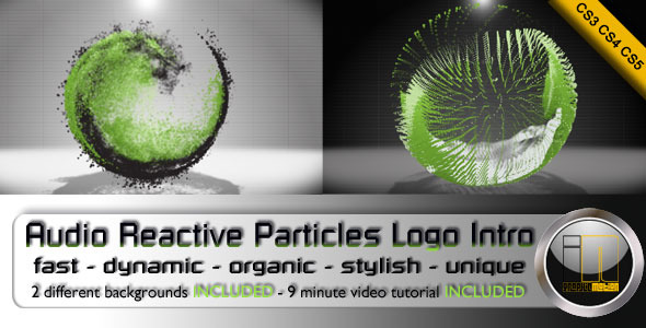 After Effects Project - VideoHive Audio Reactive 3D Particles Logo Intro 31 ...