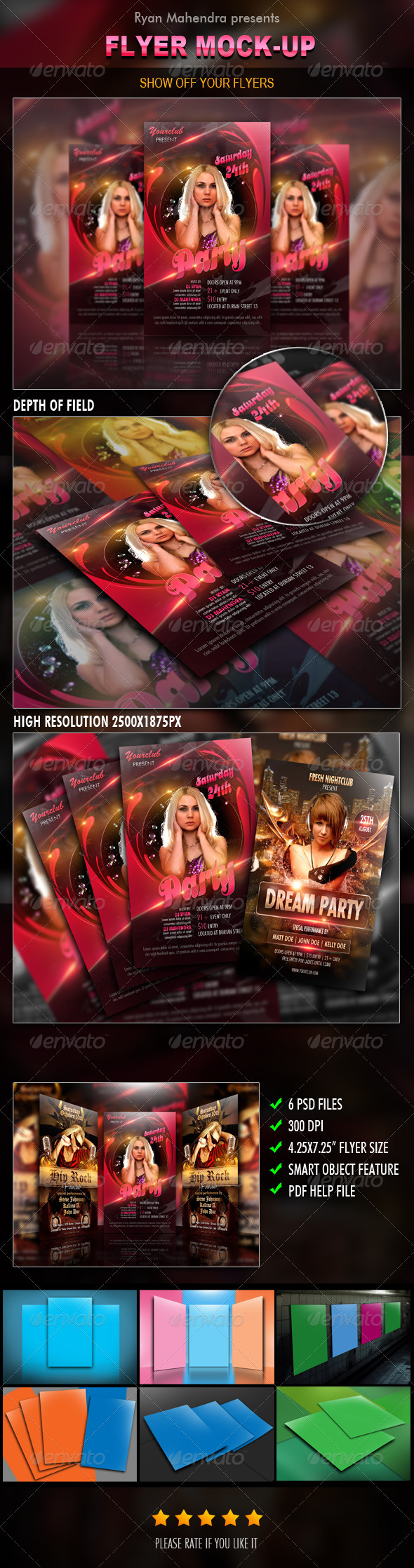 Flyer Mock-Up - Flyers Print